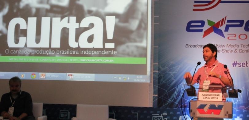 Júlio Worcman do canal Curta! falou sobre o mercado de produção audiovisual e sobre o modelo adotado pelo canal