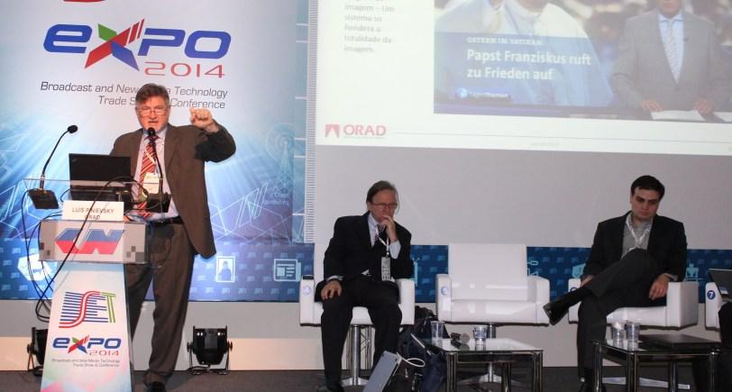 Luis Pinievsky apresentou diversos trabalhos produzidos pela ORAD