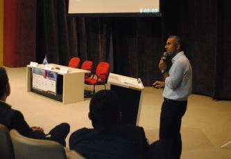 Enio Arruda (Sony) explicou os desenvolvimentos do arquivamento digital da empresa