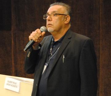 Gilbert Felix afirmou que as estações transmitem conteúdos de uma série de fontes e neles o  Loudness varia amplamente entre diversas fontes