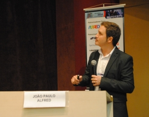 João Paulo Querette (ALFRED) mostrou as mudanças do sistema de arquivamento digital