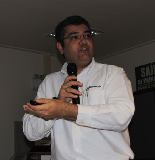 Eliésio Silva Junior de Videodata/Tektronix afirmou que o mundo broadcast vive um momento de transição