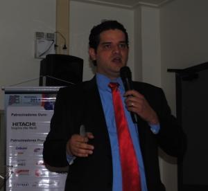 Ramiro Franco de Ideal Antenas fechou o SET Norte 2014