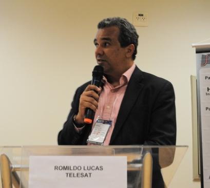 Romildo Lucas da Telesat anunciou o lançamento de um novo satélite