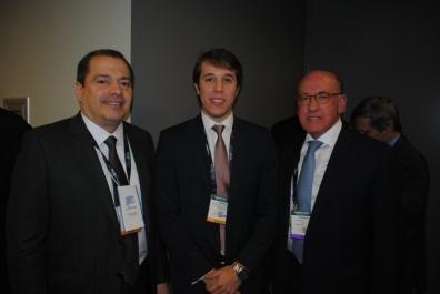 Roberto Franco (SET-SBT), Rodrigo Zerbone (GIRED)  e Fernando Ferreira (SET-TV Bandeirantes)
