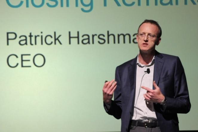 """Patrick Harshman, CEO da Harmonic afirmou em Las Vegas que as aplicações de software são o futuro da indústria. """"Não há volta atrás"""""""