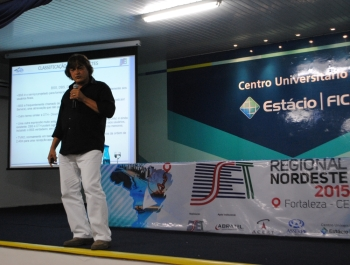José Raimundo Cristóvam ministro um workshop em forma de aula didática muito intressante no SET Nordeste 2015