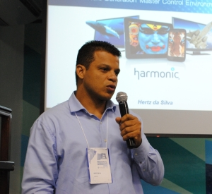 Hertz da Silva, engenheiro de pré-vendas da Harmonic Brasil
