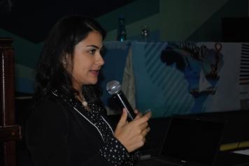 Raquel Caldas Oliveira, coordenadora de treinamentos e capacitação da SNews