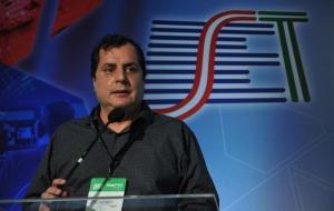 Marco Nascimento, trouxe ao Congresso SET uma visão acadêmica do jornalismo