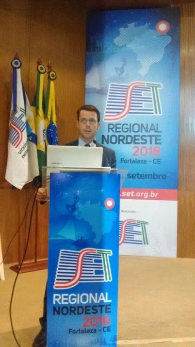 João Guilherme Arrais Hermans, gerente Regional da Anatel no Estado do Ceará, Rio Grande do Norte e Piauí